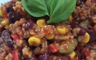 Vegetarisches Chili (auch vegan möglich)