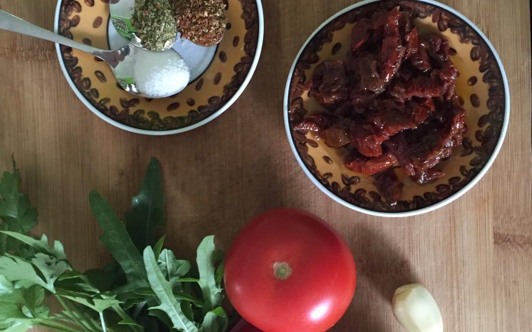 Tomatensauce in versch. Varianten