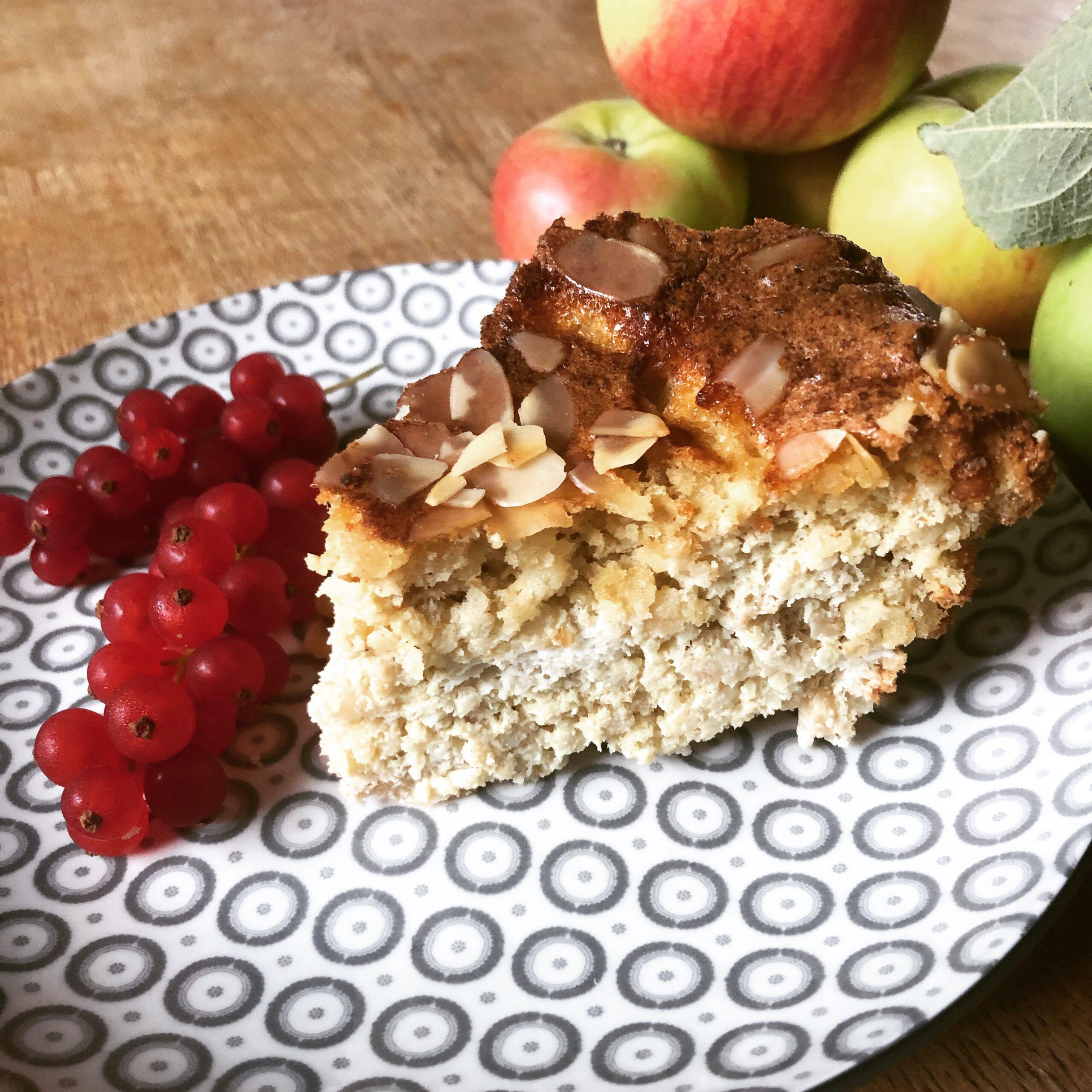 Apfel-Nuss-Kuchen lowcarb