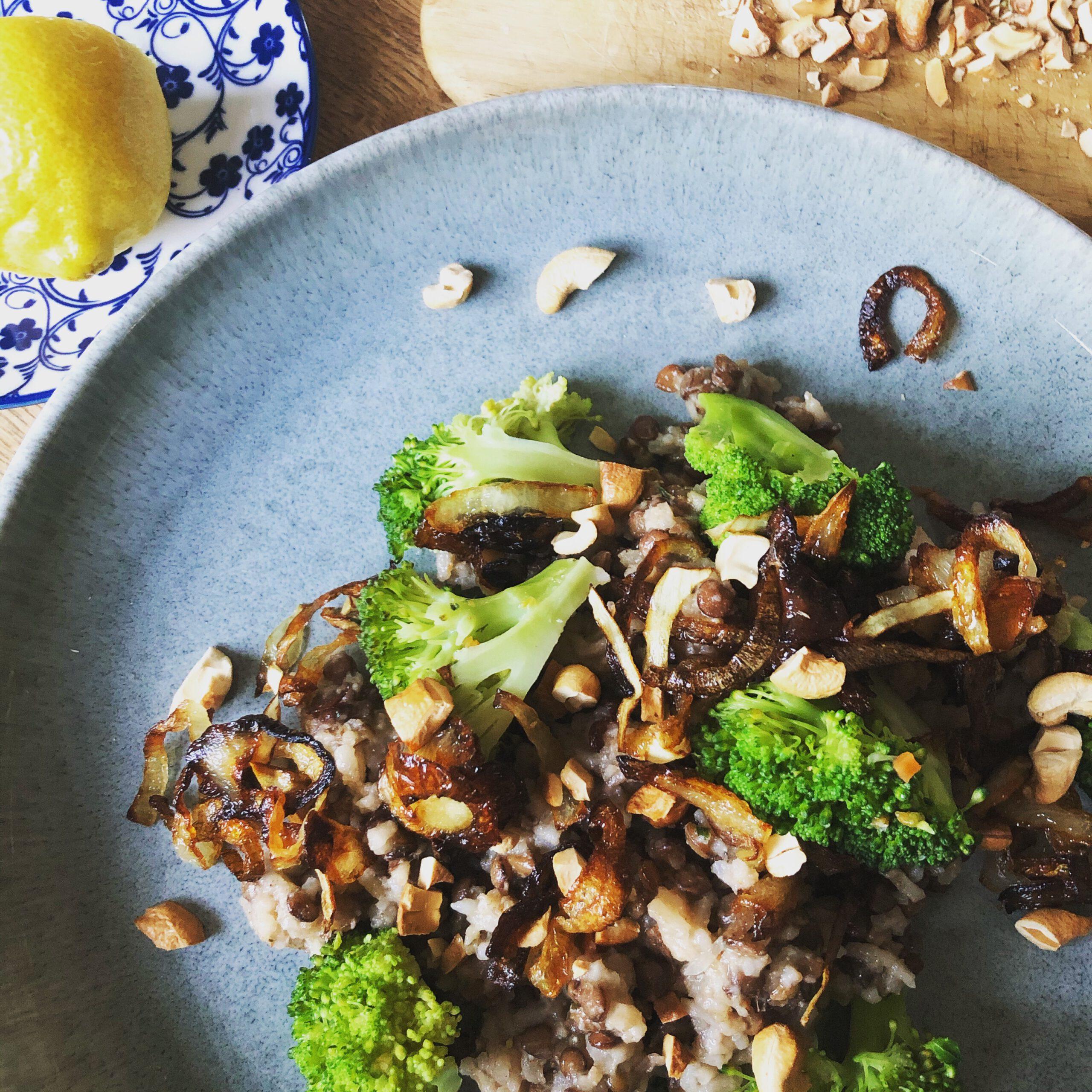 Linsen-Reis-Pfanne persisch (vegan)
