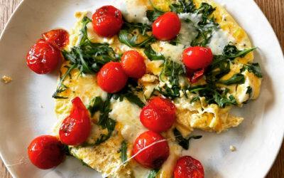 Eier-Omelette lowcarb